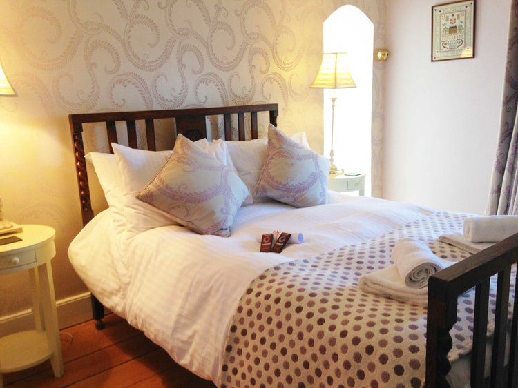 One of the comfortable double beds!