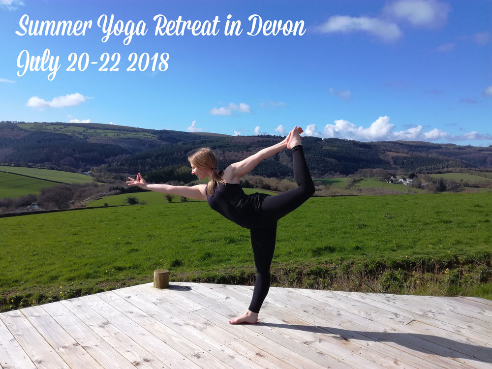 Join me in the heart of Devon for my annual summer yoga retreat!
