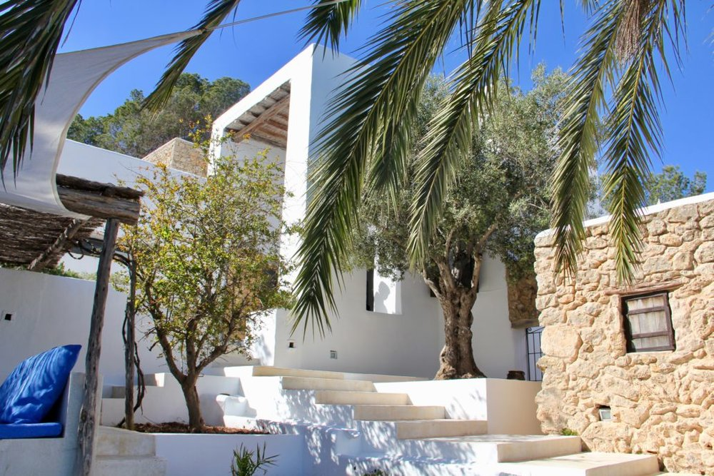 The property - Ibiza yoga retreat