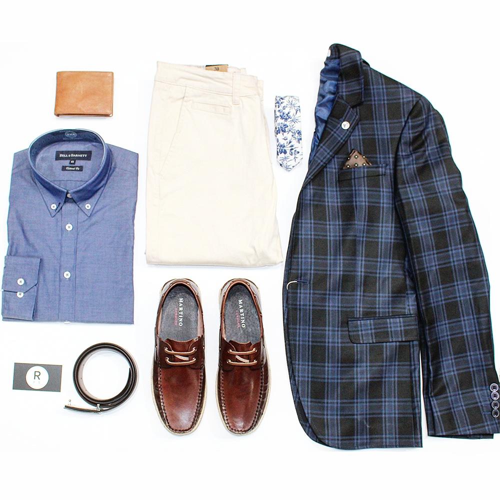 Reuben F Scarf - Shirt (100% cotton): $60 / Pants: $50 / Turkish jacket: $149.95 / Shoes: $120 / Tie: $40 / Wallet: $40 / Belt: $40