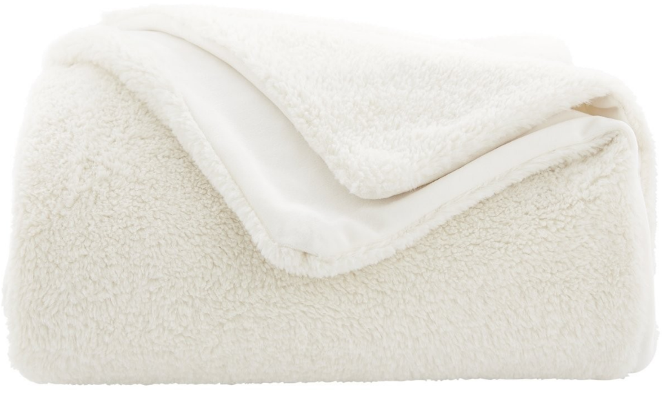 Hickson Faux Fur Throw $160.97
