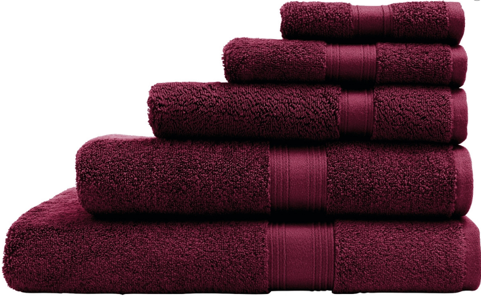 Luxury Egyptian Towel Range Face Washer $7.98 Hand Towel $13.18 Bath Mat $17.18 Bath Towel $19.98 Bath Sheet $35.98