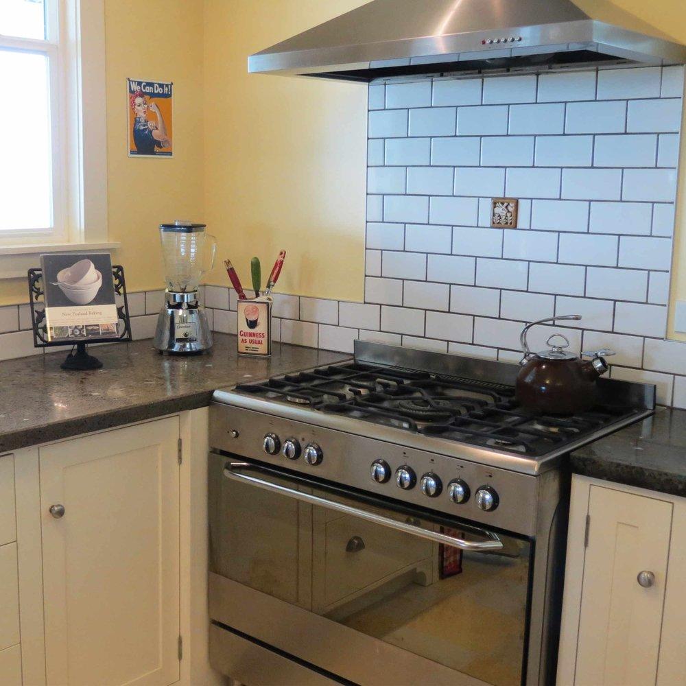Vallely Residence: Kitchen