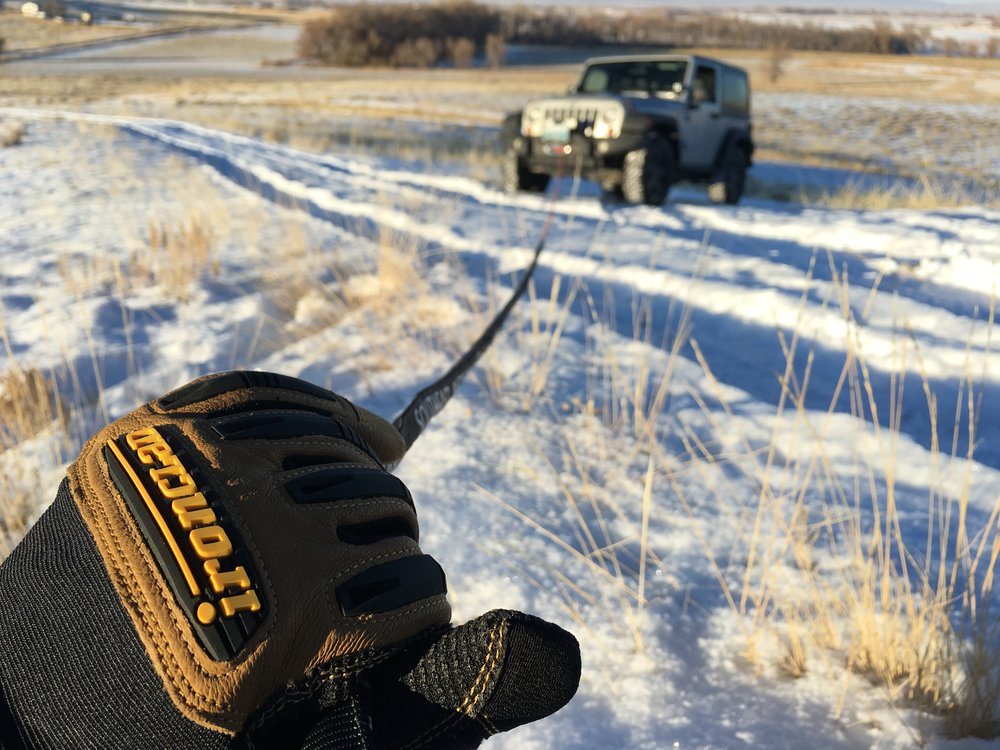 Winch cables come in steel or synthetic materials. Which you choose will depend on your application. Image: Brandon Libby