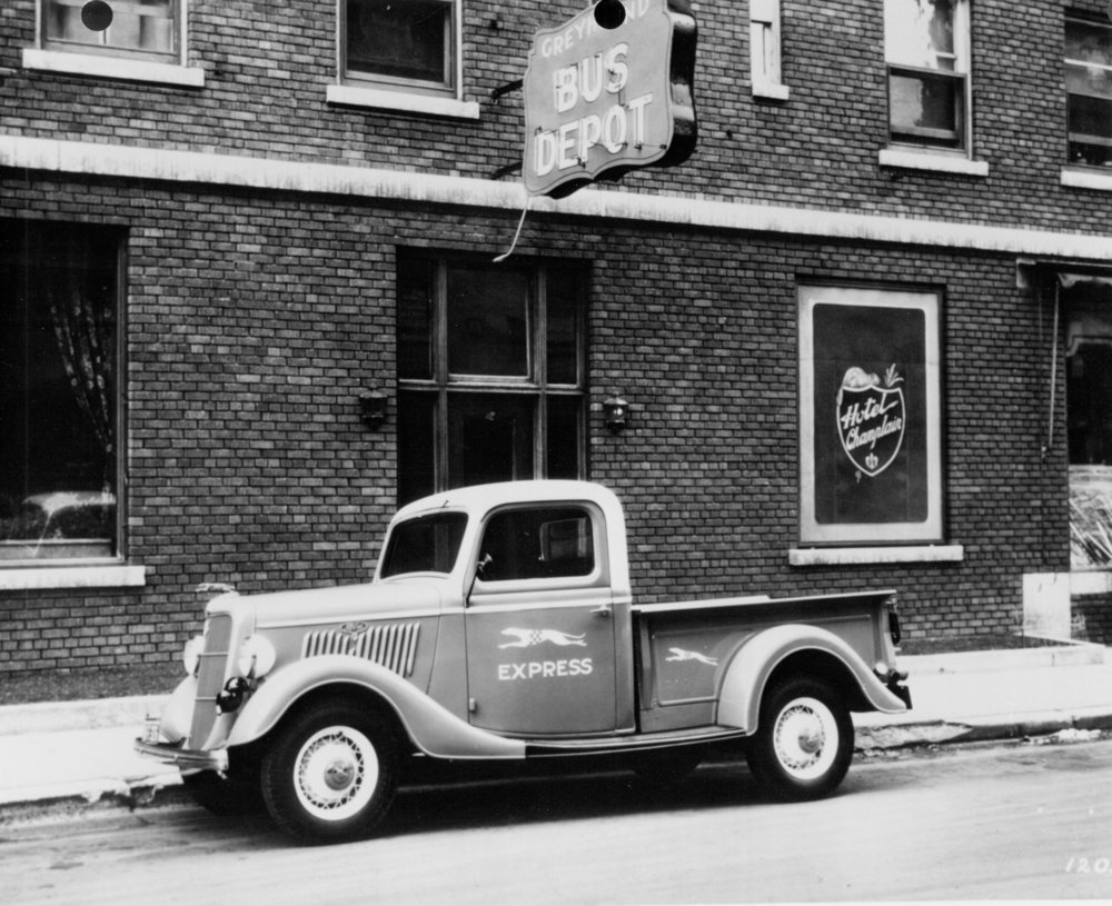 1935 Ford Pickup. Image: FoMoCo