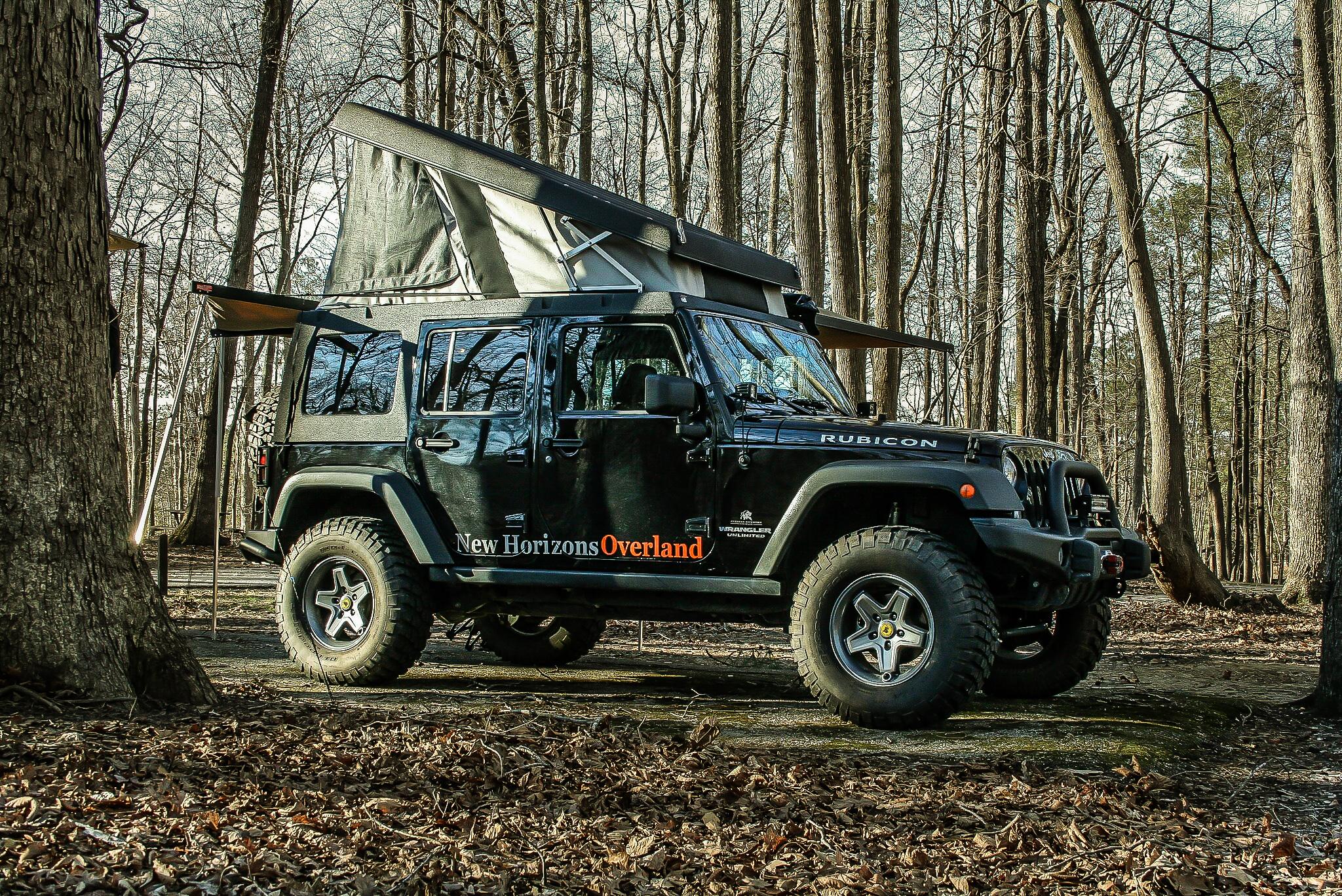 Jeep popup camper