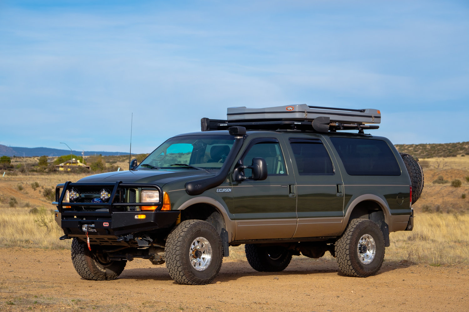 For Sale Expo S Diesel Excursion Project Overland Kitted