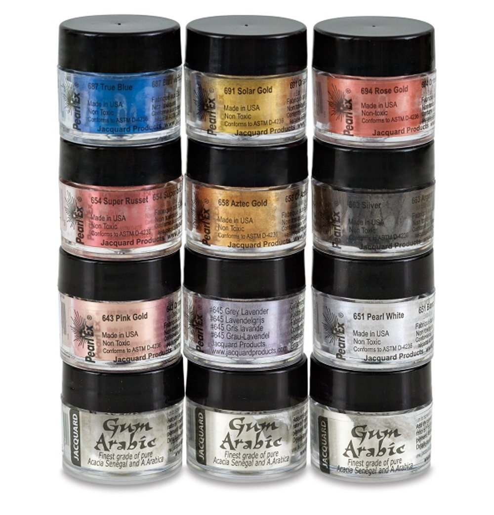 Pearl Ex Metallic Calligraphy Set, Assorted