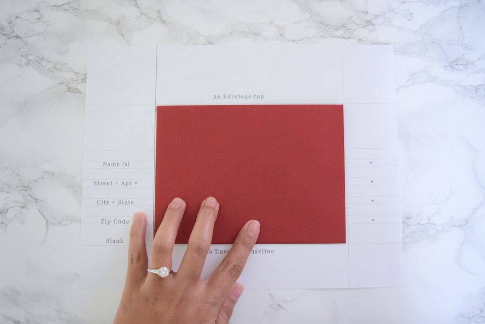 envelope template how to 1
