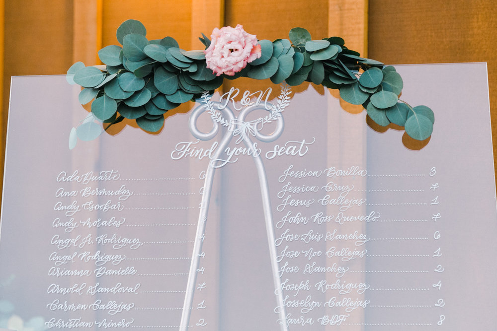 Yosemite wedding table number calligraphy items by paperloveme37.jpg