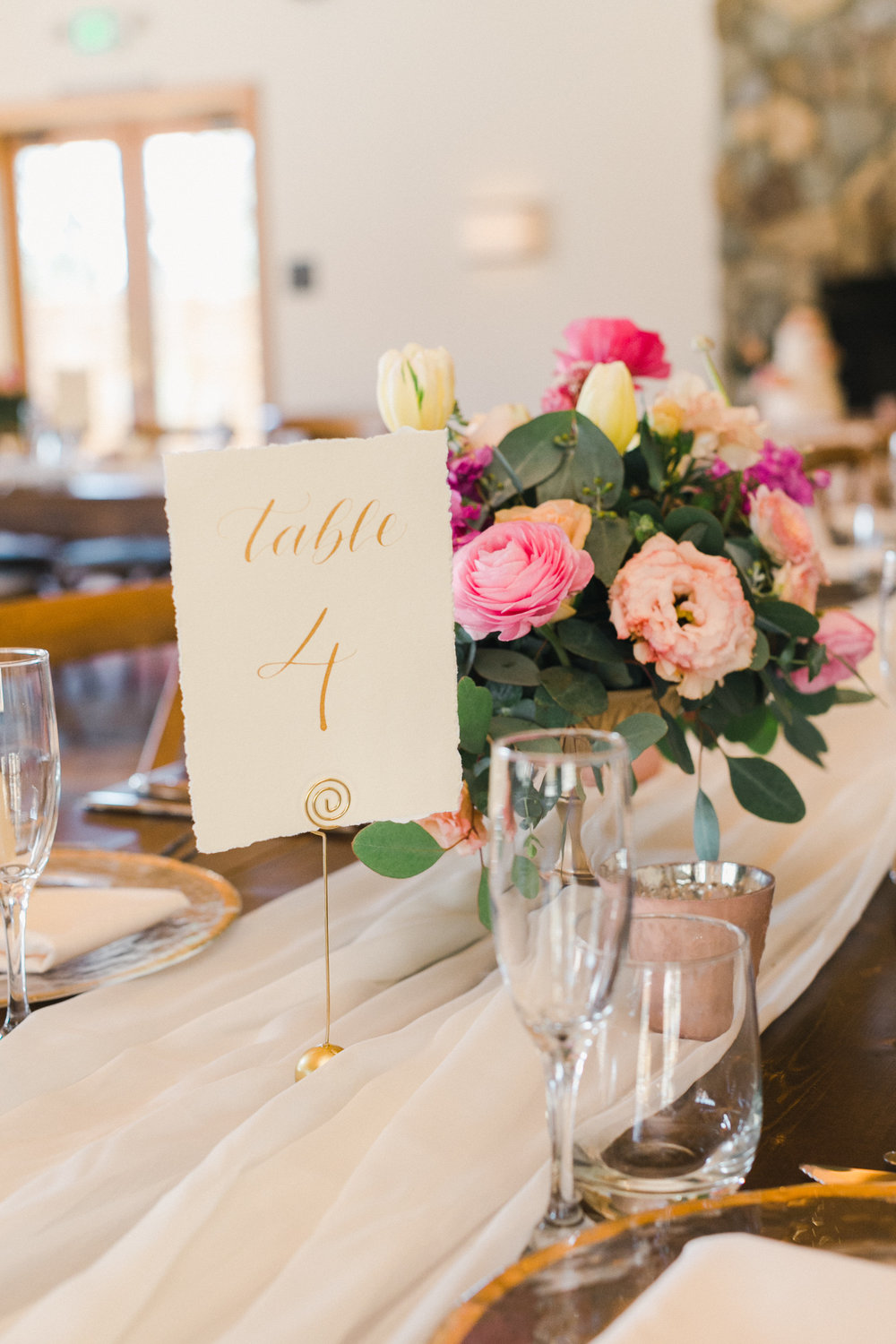 Yosemite wedding table number calligraphy items by paperloveme3.jpg