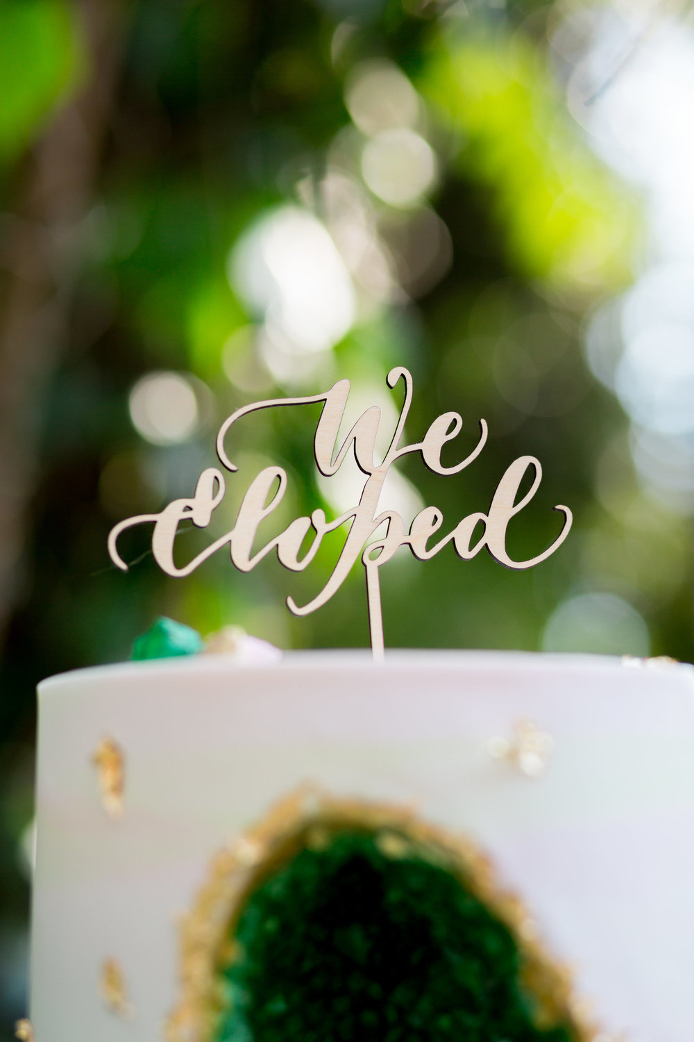 Elopement Announcement Esmerald and Gold Inspired by Paperloveme Calligraphy157.jpg
