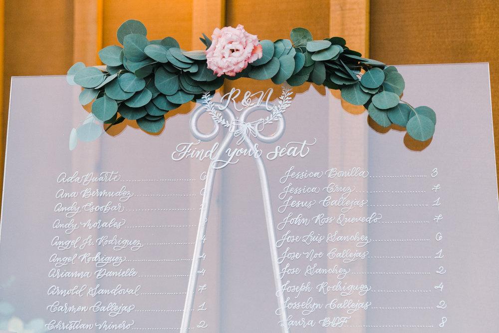 Yosemite wedding table number calligraphy items by paperloveme37.jpg