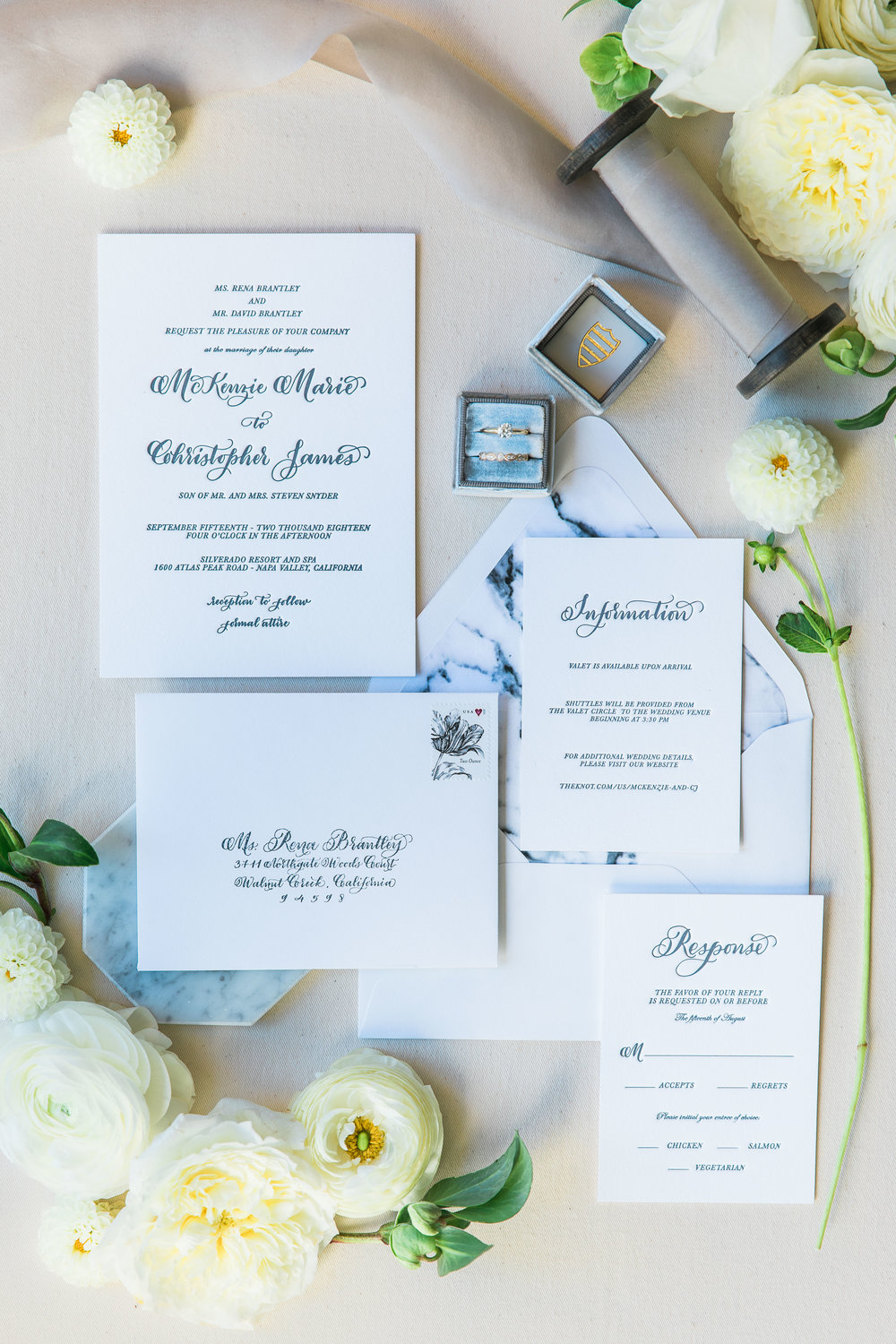 Napa Valley Marble Minimalistic Wedding Style by Paperloveme Calligraphy1.jpg
