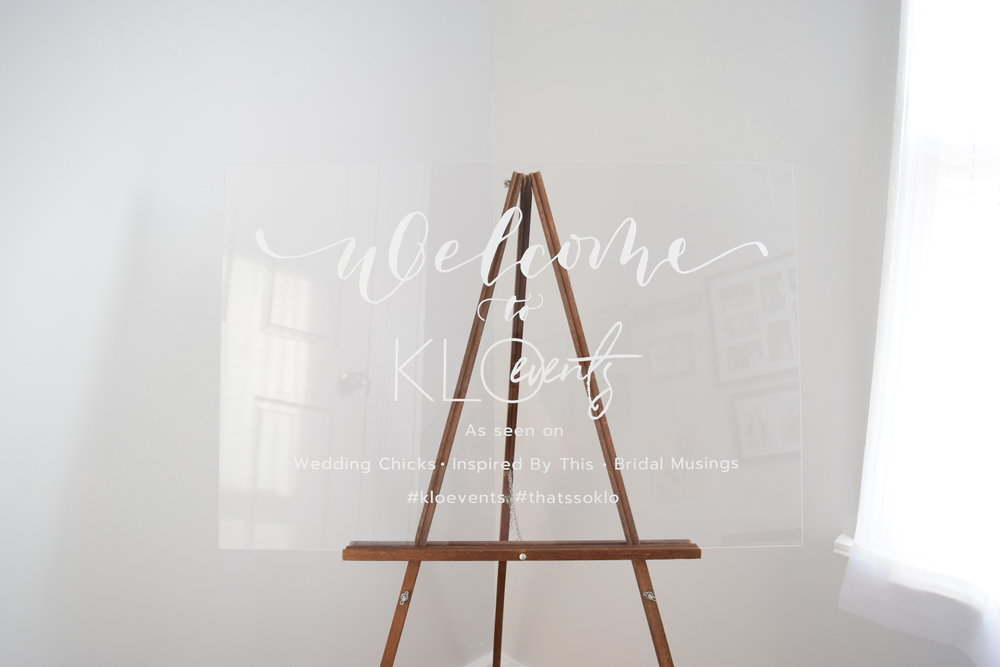 minimalistic and modern acrylic wedding sign for rent.JPG