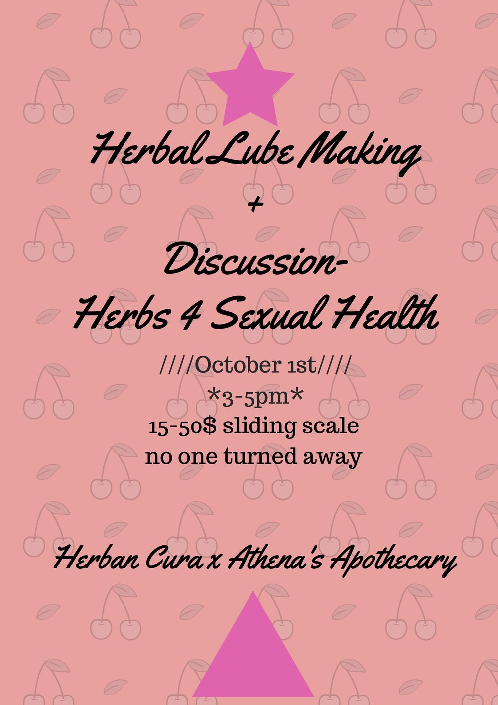Herbal Lube Making