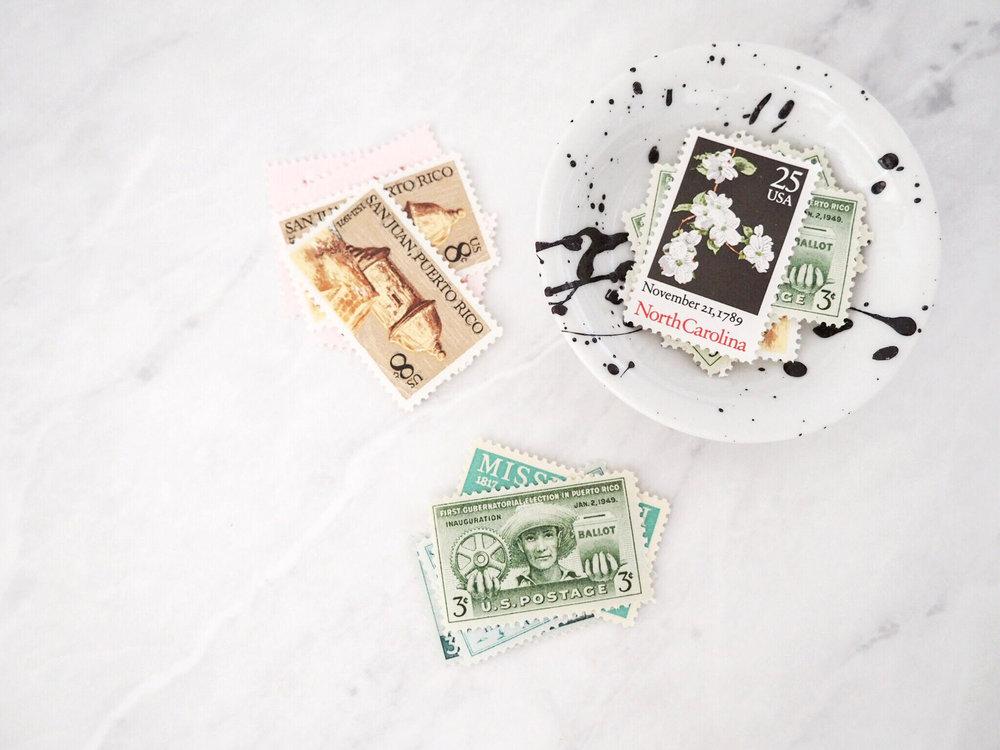 Caitlin Jane Calligraphy - Vintage Stamps.jpg