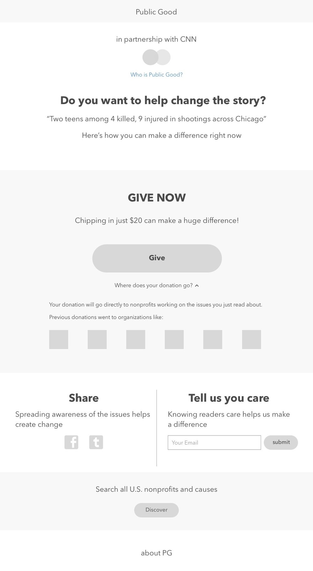 V2b Shows nonprofits that get donations previously