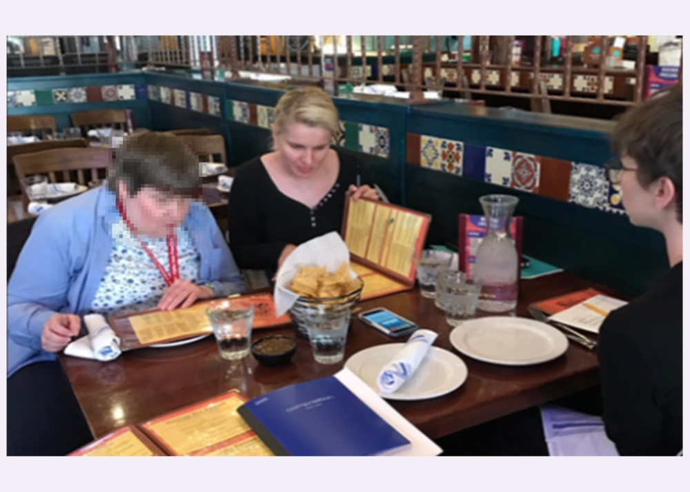 Research -Dining Experience for People with Visual Disabilities