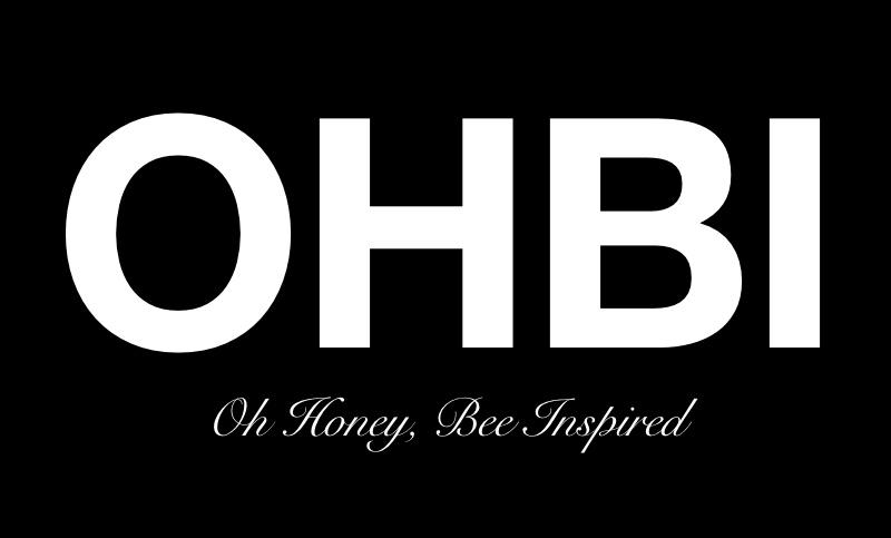 Oh Honey, Bee Inspired Logo