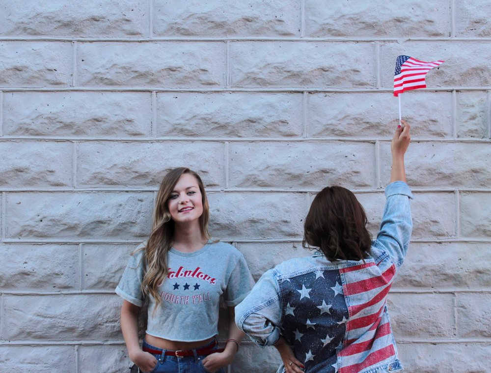 Patriotic Style Vibes