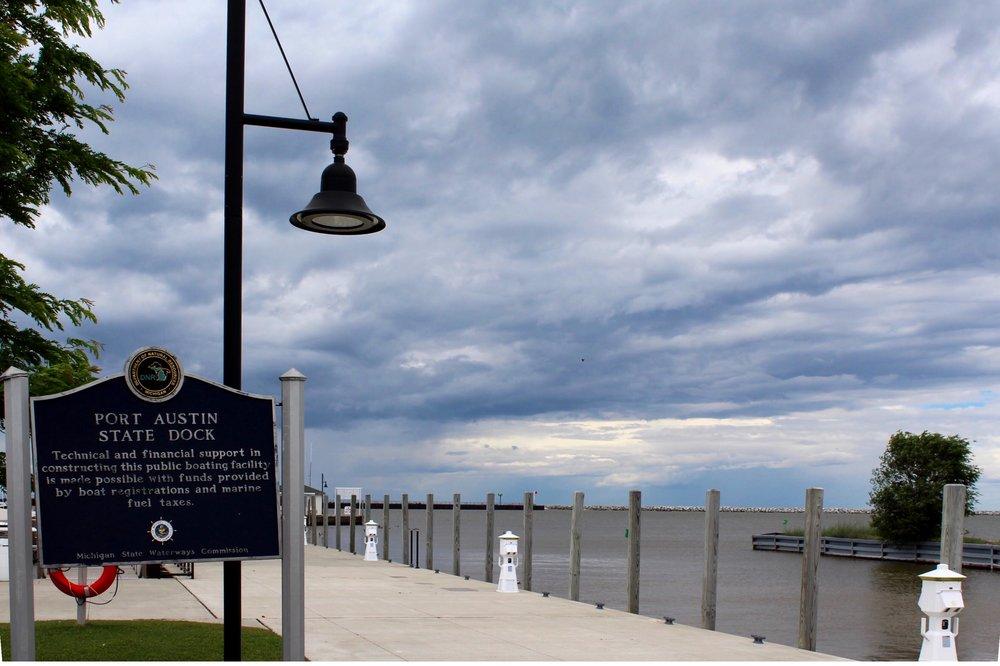 Michigan Great Lakes / Port Austin / Lake Huron / Michigan Dock