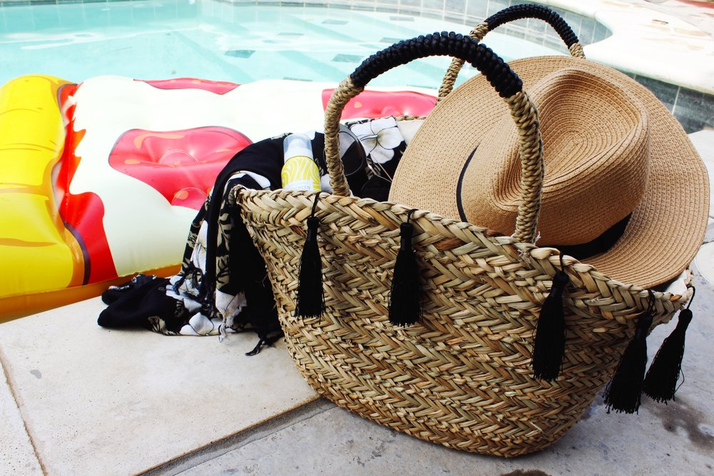 Woven Straw Accessories for Summer