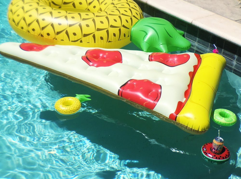 Food Inspired Pool Floats by Big Mouth Inc.