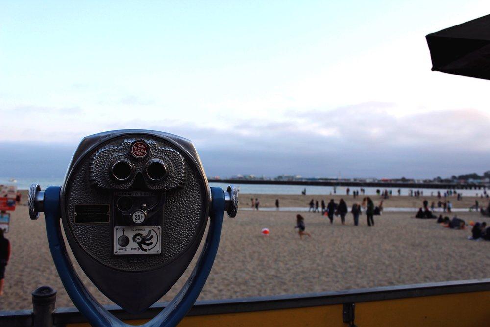 Santa Cruz Beach Views and Telescope