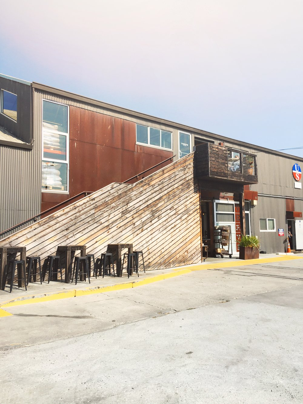 Verve Coffee Roasters Warehouse in Santa Cruz, CA