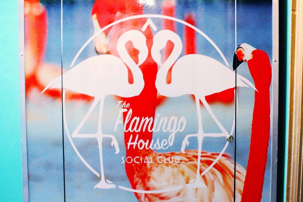 The Flamingo House Social Club Photo Booth