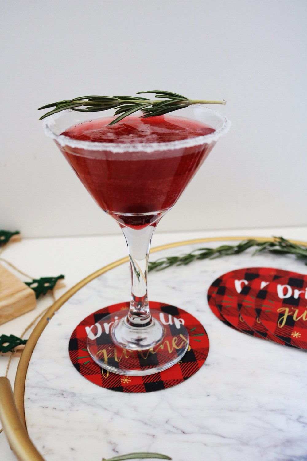 Christmas Cranberry Cocktail recipe