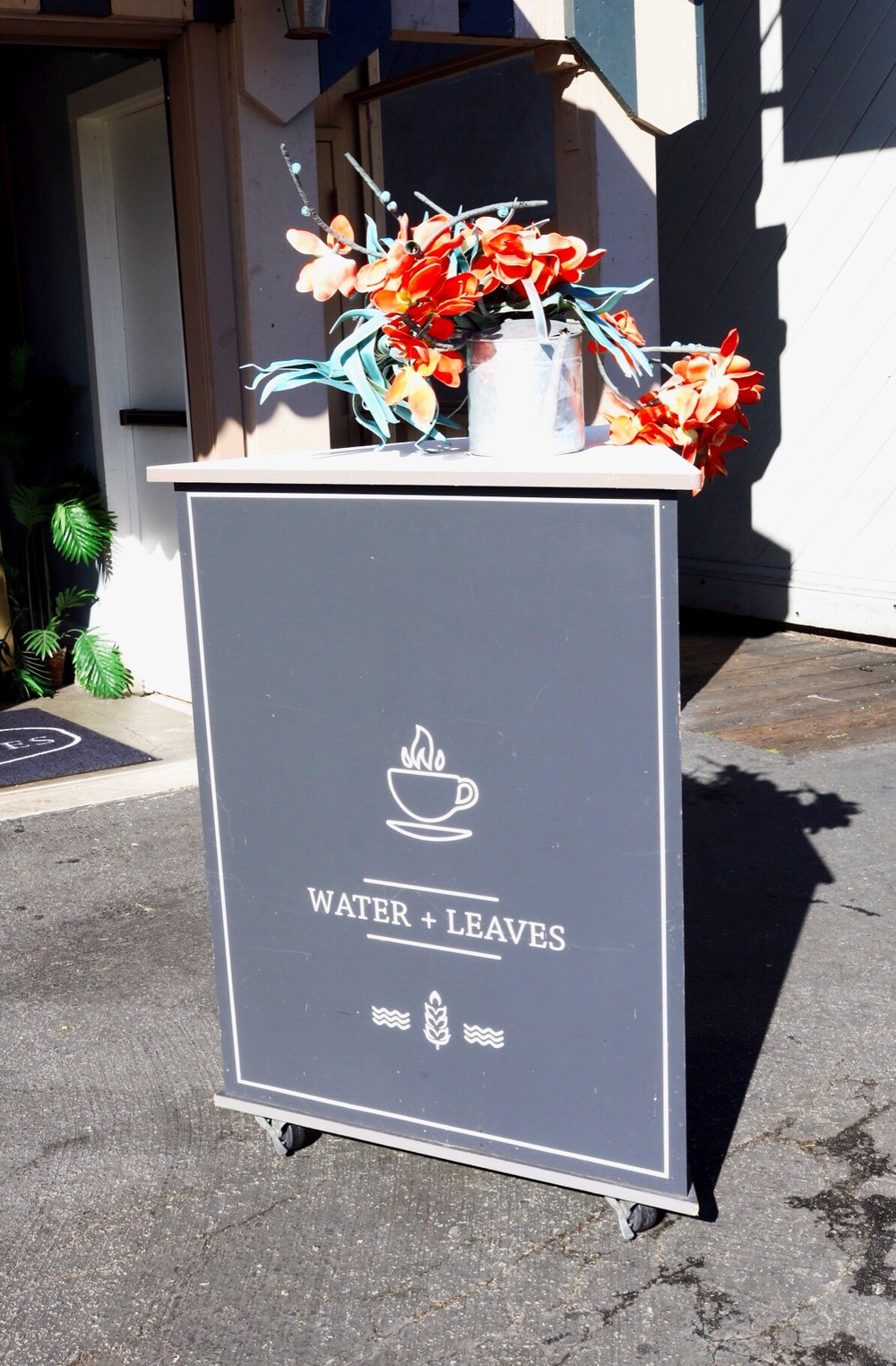 Water & Leaves Coffee and Tea Monterey Beach