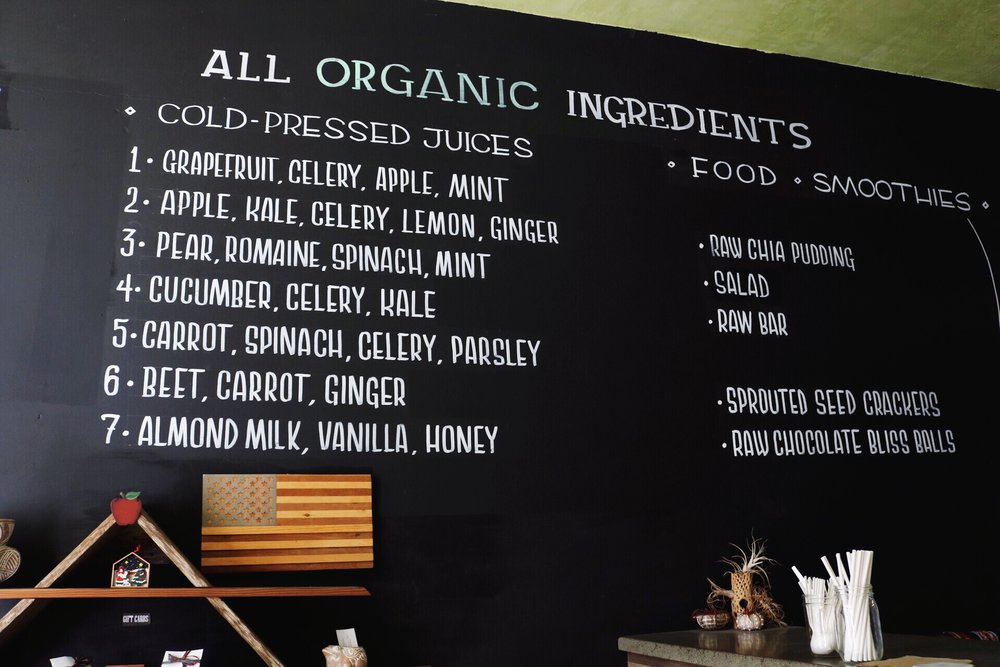 Central Coast Juicery Pacific Grove Monterey Beach Fresh Pressed Juice