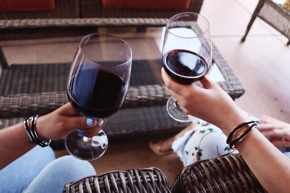 Oak Farm Winery Cabernet Sauvignon and Pinot Nior