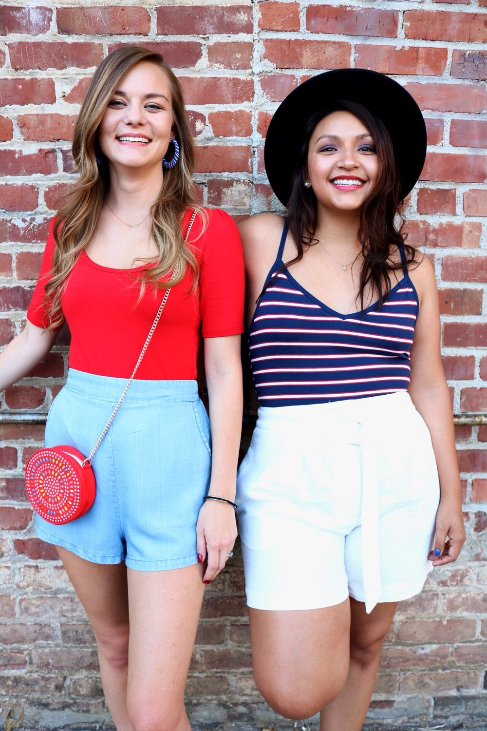 Fourth of July inspired outfits// Americana