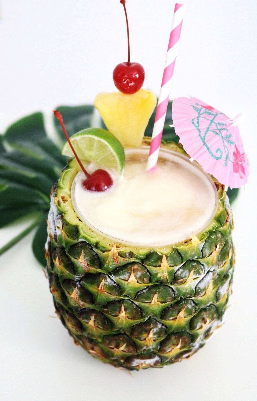There is nothing better than a cute piña colada on a hot summer day!