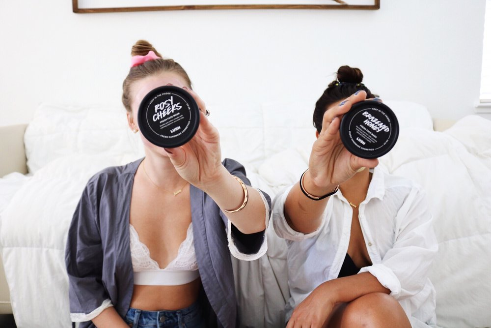 Lush Cosmetics, Fresh Face Masks, Long Laced Bralette, Living Lively, Lively Bras, Inclusive Brands