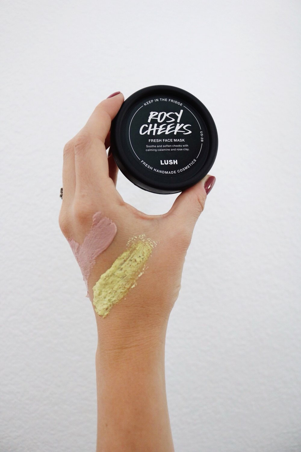 Lush Cosmetics, Fresh Face Masks, Face Mask Swatches, Rosy Cheeks, Cruelty Free Cosmetics, Skin Care