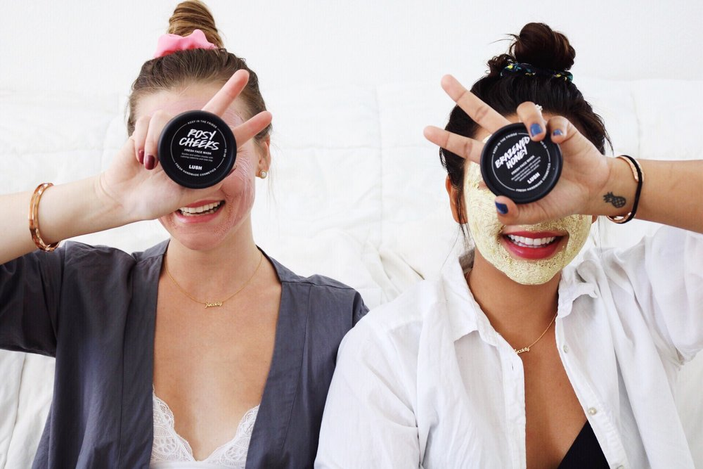 Self Care, Face Masks, Best Friend, Lush Cosmetics, Top Knot Bun