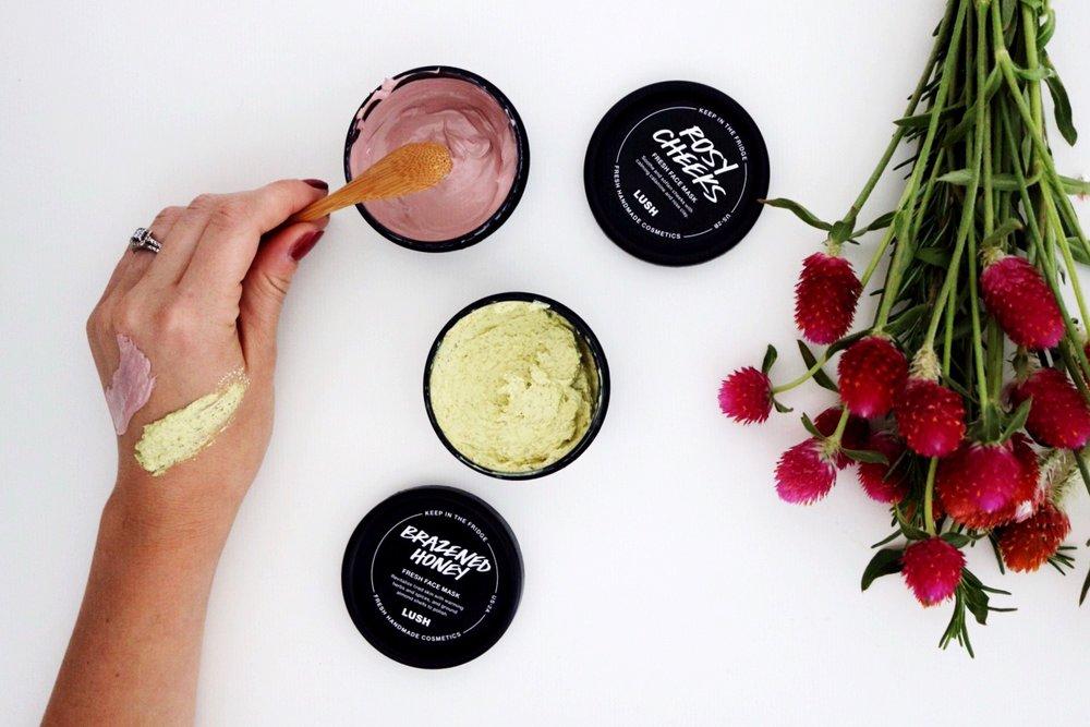 Lush Cosmetics, Fresh Face Masks, Brazened Honey, Rosy Cheeks, Smooth Skin, Skin Care