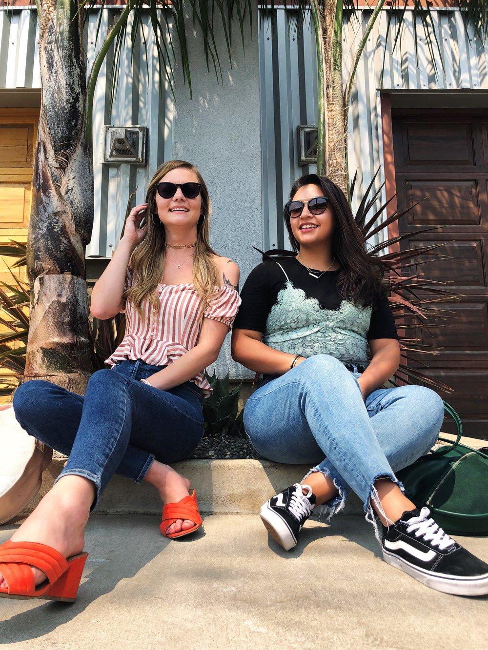 Summer Fashion, Dainty Jewelry, Street Style, Denim Jeans, Sunglasses, Canadian Company, Shop Small