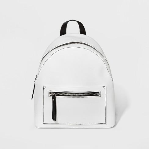 Mini White Backpack $22
