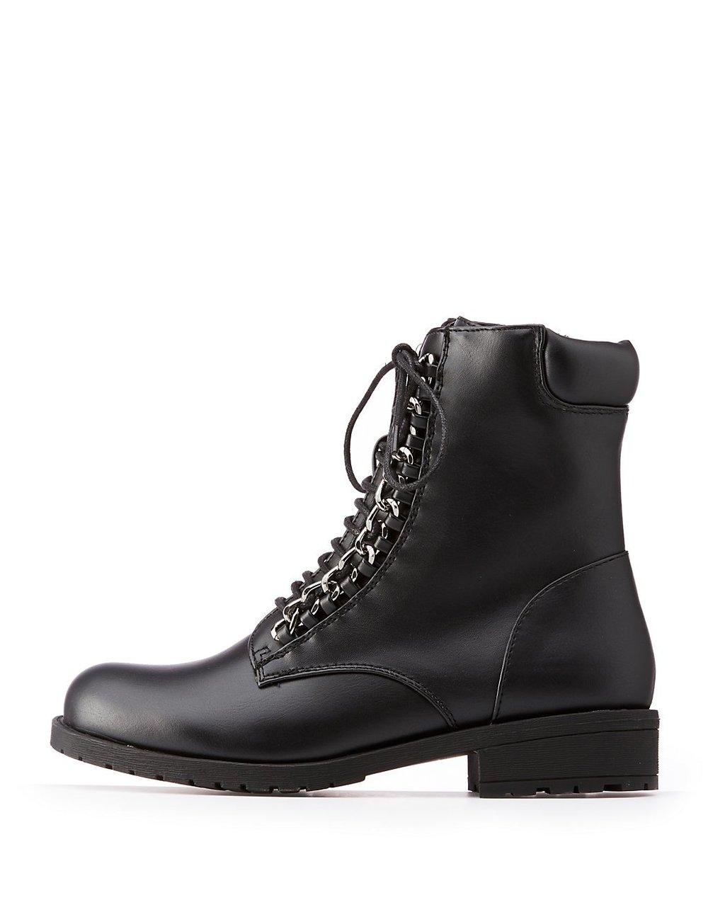 Combat Boots $25