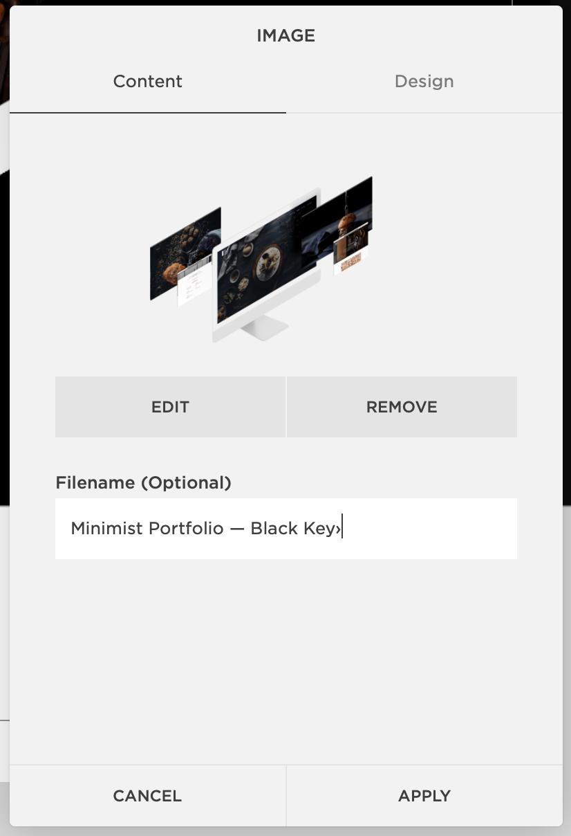 Filenames — Image SEO