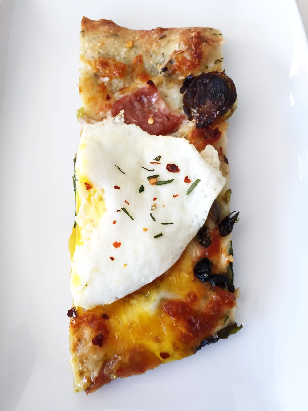 The perfect slice! Happy brunching :)
