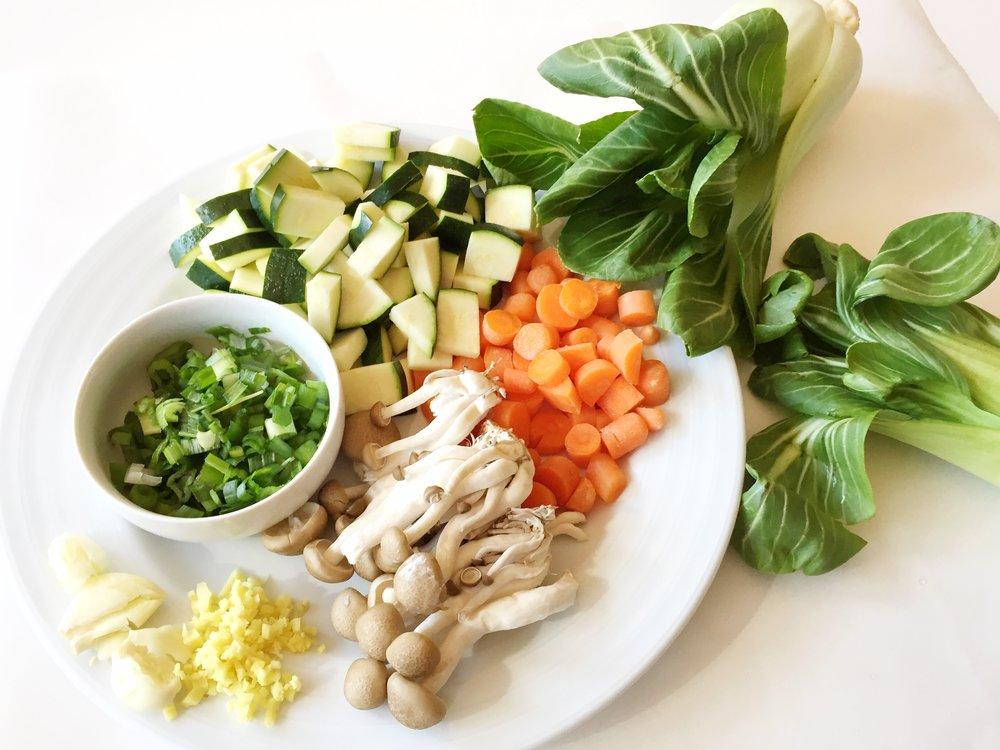 stirfry vegetables