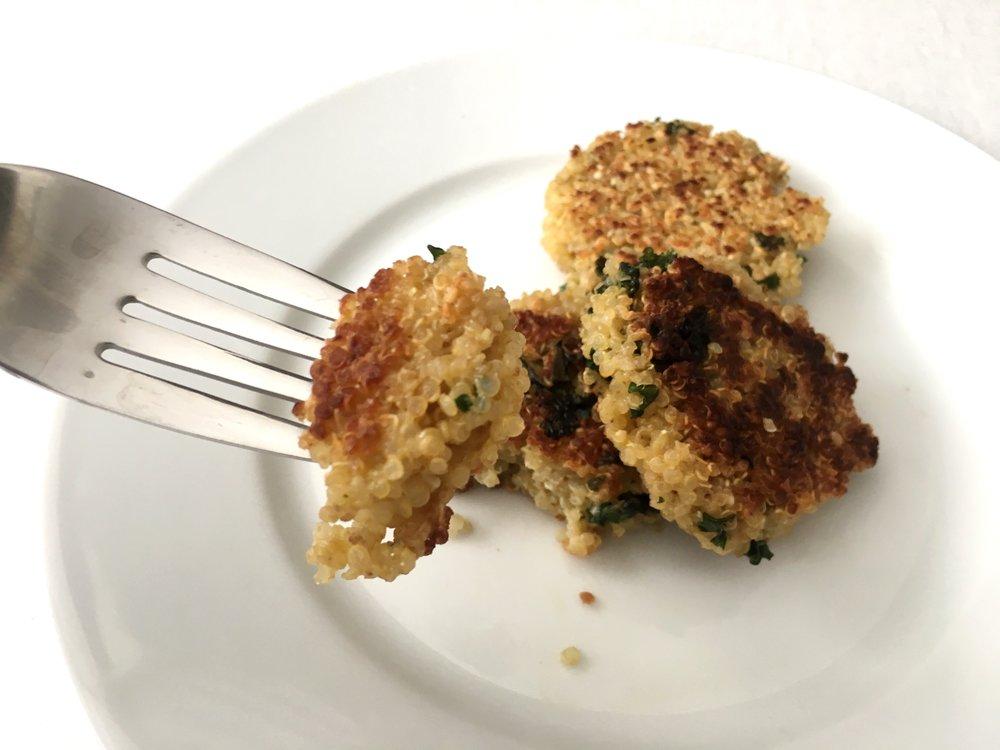 quinoa patty