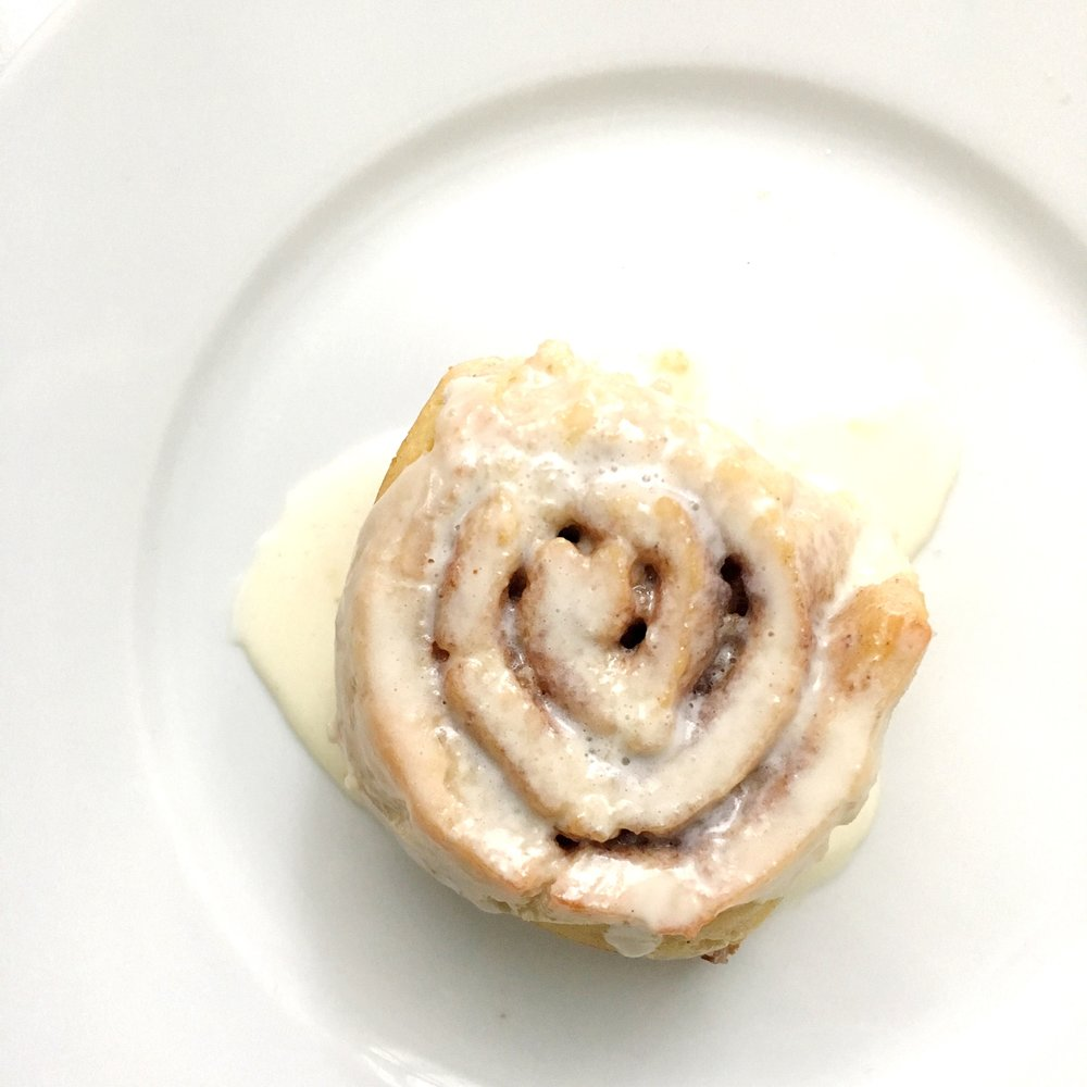gluten free cnnamon roll