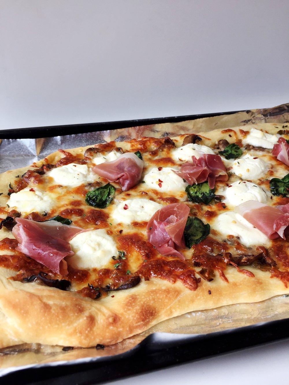 spring pizza @ofthesamemix